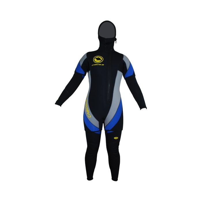 traje buceo mujer europeo