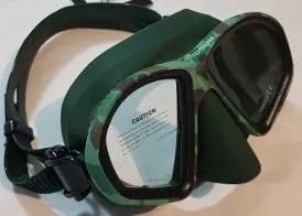 Mascara De Buceo Y Snorkeling, Cabo Sub Camouflage
