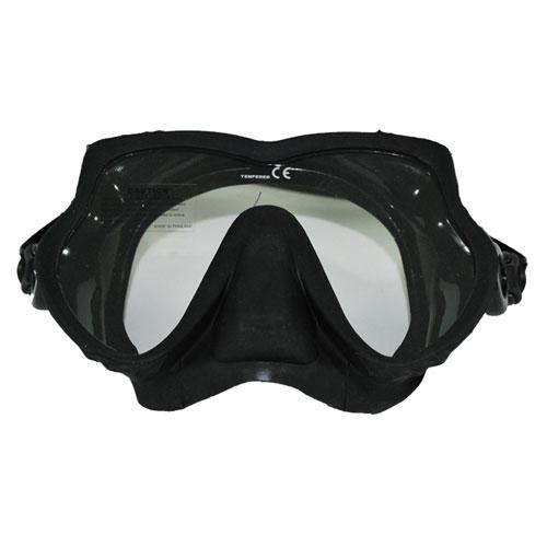 Máscara de Buceo y Snorkeling Negra Butterfly