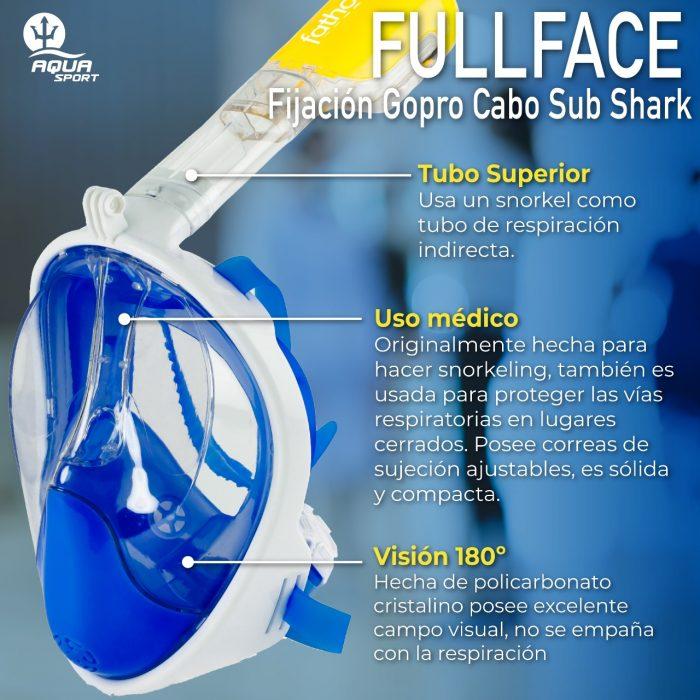 fullface aqualung