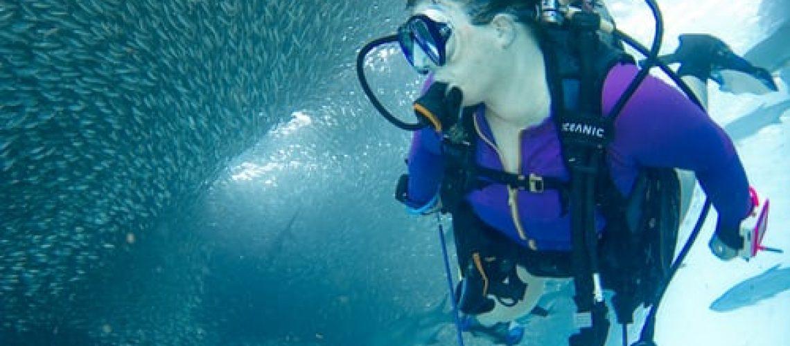 flotabilidad en el buceo
